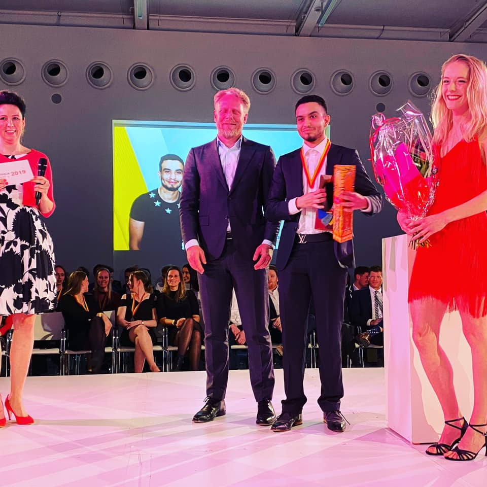 Zakaria is uitgeroepen tot Sportvrijwilliger 2020